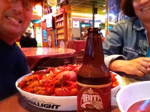 Crawfish at Rocky's