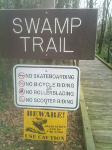 Watch for Gators!