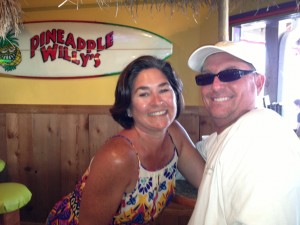 We rode our bikes to Pineapple Willy's one afternoon, and then ate at a great Cajun dive called Dee's Hangout.