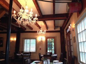Inside the Tuthill House at the Mill Restaurant & Tavern.