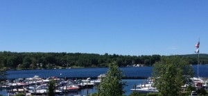 One of the marinas in Laconia.