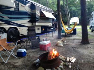 Our camp at the KOA.