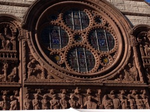 The architectural details on the Princeton campus were amazing!