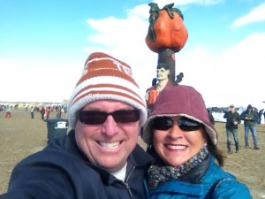 Greetings from the Punkin Chunkin