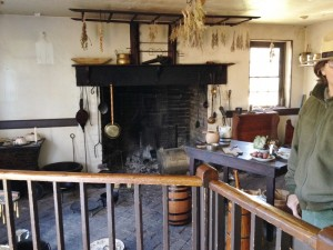 I love to cook, but I don't think I would be as enthusiastic if I had to do it in a kitchen like this one at George Washington's birthplace.