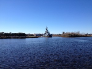 The Battleship USS North Carolina in Wilmington
