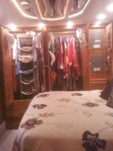 Our bedroom closet.
