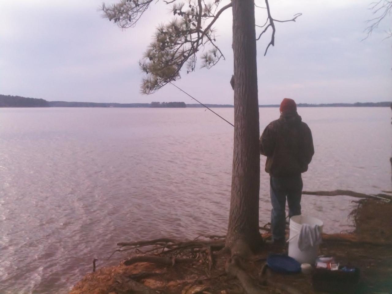 Fishing holes the martin 39 s american adventure for Lake murray fishing hot spots