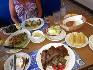 Best Ethnic Neighborhood: Greek Diving Village of Tarpon Springs, Florida Mykonos Restaurant