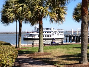 It was a beautiful day to take a 30-minute ferry ride across Charleston Harbor to Fort Sumter.