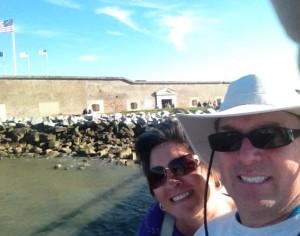 Fort Sumter selfie.