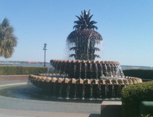 The pineapple fountain at the Waterfront Park in downtown Charleston seemed so welcoming!