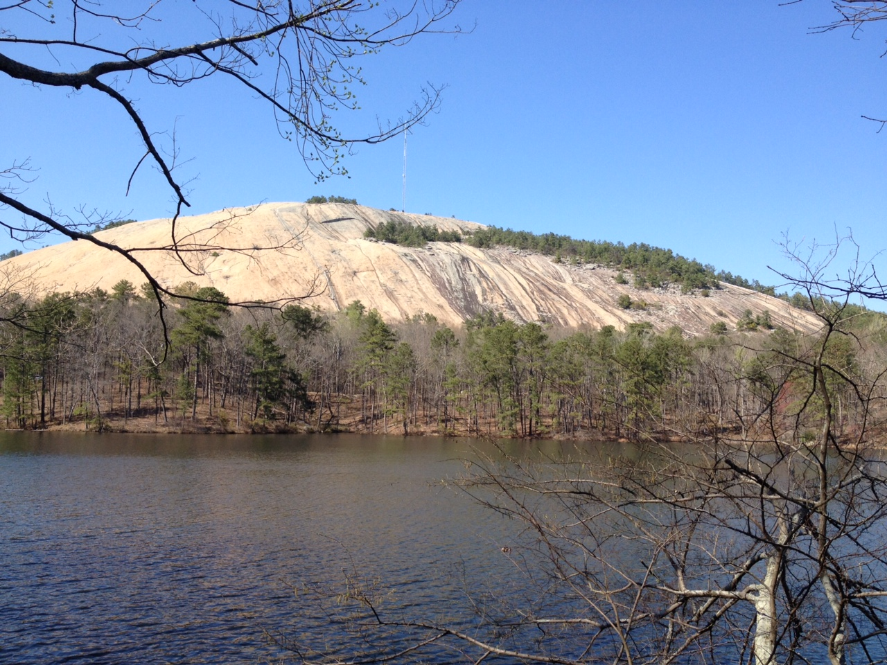 April 2014 the martin 39 s american adventure for Stone mountain fishing