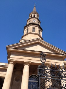 The churches in Charleston are each uniquely distinctive.