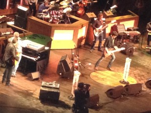 The Grand Ole Opry in motion.