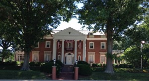 The Governor's Mansion in Charleston, West Virginia.