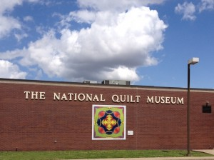 I think the best thing about Paducah is The National Quilt Museum. Guests are not allowed to take pictures of any of the pieces inside. All I can say is that it was incredible.