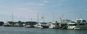 Judging from the inventory in it's marina, I'd say the Annapolis Yacht Club has some high rollers among its membership.