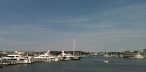 Another view of the Annapolis Harbor.