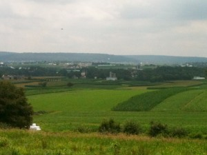 A typical vista in Amish Country.