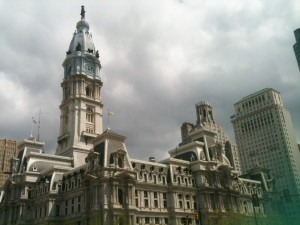 The Philadelphia City Hall looks more like a foreign embassy or the capitol building in another country.