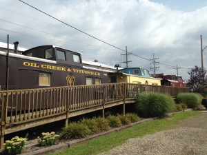 Next to the historic Depot in downtown Titusville is The Caboose Motel. The place has about 20 rooms. Each room is a refurbished train caboose, complete with bathrooms, televisions, phones, and all the other usual comforts of home. I wish I could have seen the inside of one.