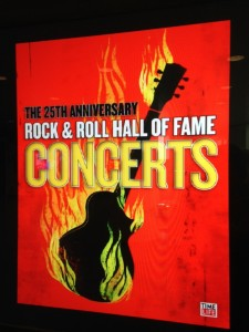 It would be extremely easy to spend a full 8 or 10 hours inside the Rock & Roll Hall of Fame - because of all the videos and concert recordings playing on dozens of screens and in several theaters within the building.