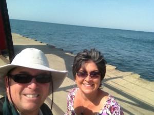 Waterfront selfie.