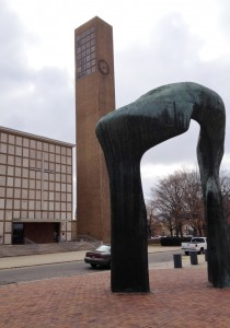 Columbus is a very interesting city with a large collection of public art - in the form of sculptures AND buildings.