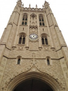 The Bell Tower of Memorial Union on the University of Missouri Campus.