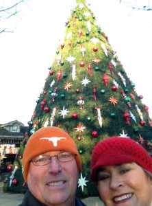 The tree at Silver Dollar City.