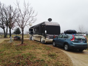 Our spot at Jellystone Campground - W4.