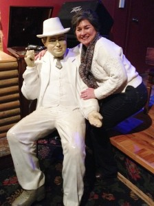 The Gangster Museum was a very interesting stop in downtown Hot Springs. After our tour, I spent a little quality time with Al Capone.