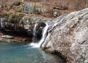This is the only waterfall we saw in Arkansas. At Lake Catherine State Park.