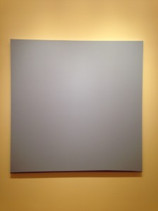 This masterpiece was in the modern art section of the OKCMOA. I'm sure there are many art aficionados smarter and better educated then I am that could explain the brilliance behind this creation. I would be willing to listen. Couldn't get there on my own.