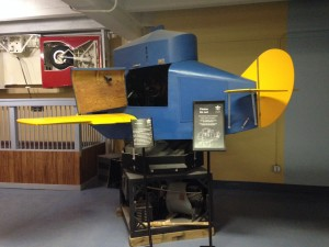 One of the first simulators for budding pilots.