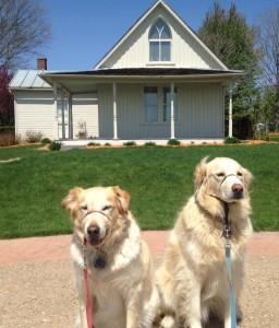 American Gothic Duo. Eldon, Iowa