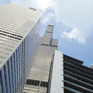 The Willis (Sears) Tower from my boat tour.