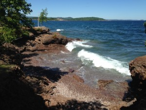 The waters off of Presque Isle.