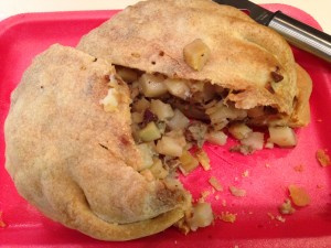 Pasties are a Michigan thing. They might even be a more exclusive U.P. thing. I first learned about them when we visited Mackinac early last fall. Pie crust filled with ground meat, diced potatoes and diced rutabaga. The ultimate comfort food. Beware though... they are pronounced paastie (soft A). When I ordered my first one, I pronounced it more like what one would wear if dancing with a pole. Everyone knew I was a tourist at the counter. Before we left Marquette I stocked my freezer with 4 of them. Simple and delicious.
