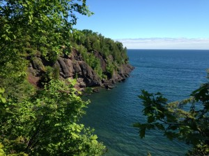 Presque Isle is a municipal park on the north side of Marquette. You can see why it is considered the jewel of Marquette.