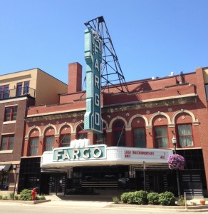 Downtown Fargo has a nice fabric of historic commercial buildings.