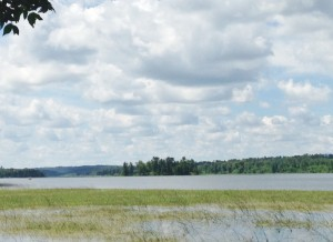 Lake Itasca - where the Mississippi River originates.