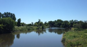The Sheyenne River.