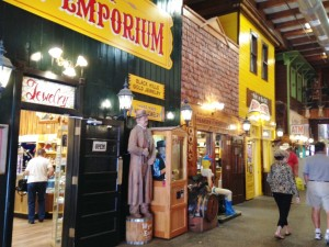 Inside the world famous Wall Drug Store.