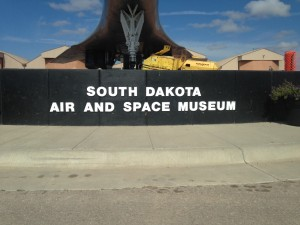 The four of us visited the South Dakota Air and Space Museum outside the gate of Ellsworth AFB, to the northeast of Rapid City. Admission was free! Mike and his Dad especially enjoyed this outing. The exhibits were very informative and they had several aircraft parked outside the museum for display.