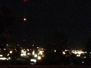 I understand this is not a good photo (the iphone camera can only do so much), but we had a nice skyline view of Rapid City from our campground at night. Lots of lights twinkling off in the distance.