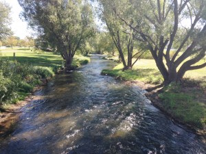 Rapid Creek runs through the middle of Rapid City. The city has created a wonderful walking trail that runs parallel to the creek. There are many relaxing green spaces all over the community.