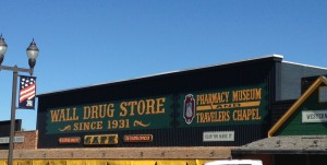 Wall Drug Store is a icon of the South Dakota Badlands. The place is so big it comes with its own map! Albeit it was in the middle of nowhere, a young pharmacist and his wife purchased the business in 1931. When business was slow, his wife had the idea of offering free water and coffee to travelers on the nearby highway. Once she gave passersby something to stop for, their business took off. Now, almost 85 years later, the business is a bona fide tourist attraction.