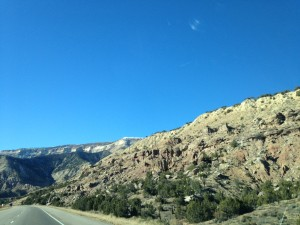 More beautiful vistas through the windshield.